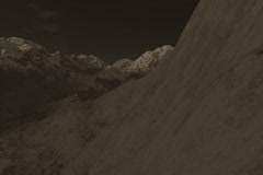 19 Beautiful Mountain Ranges in Sepia Tones Stock Footage