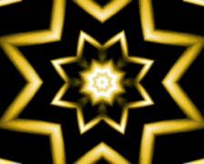 Golden flower (loop) Stock Footage