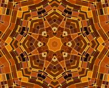 Kaleidoscopic tunnel (loop) Stock Footage