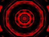 Kaleidoscopic magma loop Stock Footage
