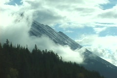 An Alberta Mountain Stock Footage