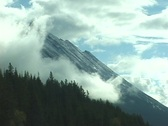 Stock Video Footage of An Alberta Mountain