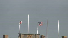 Perch Rock Fort. HD 1080i - stock footage