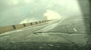 Driving through a huge storm HD 1080i Stock Footage