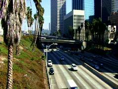 L.A. Freeway - 1 Stock Footage
