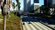 Stock Video Footage of L.A. Freeway - 1