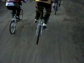 Stock Video Footage of BMX race P.O.V.