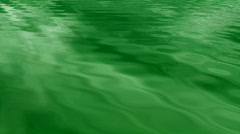 Realistic flowing green water in a seamless loop Stock Footage