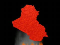 Iraqmap Stock Footage