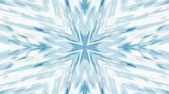 Blue star Kaleidoscope (HD720p30) Stock Footage