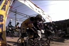 Bmx-race start Stock Footage