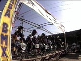 Stock Video Footage of bmx-race start