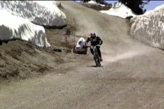 Downhill-10 Stock Footage