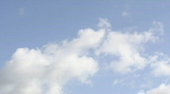 Clouds time lapse (HD1080p30) Stock Footage