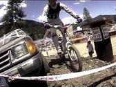 Bike Trials jump Stock Footage