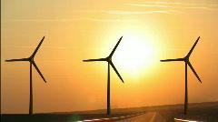 Wind Farm Stock Footage