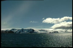 An Antartic sunny day 2 Stock Footage