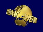 Db Globe 02 News Break SD Stock Footage