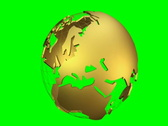 Stock Video Footage of db Globe 10 Golden SD