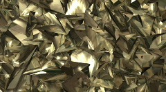 Spastic gold metal Stock Footage