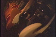 Guitars amps Stock Footage