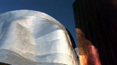 Experience Music Project Building in Seattle, Washington - stock footage