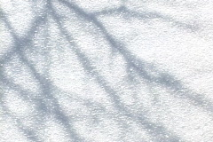 Snow Crystals pan of shadows 1 Stock Footage