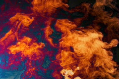 Lake of Fire Stock Footage