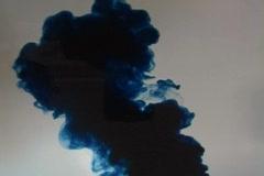 Liquid Ambience:  Blue Eruption - stock footage