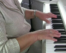 piano - stock footage