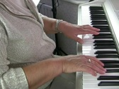 piano Stock Footage