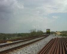Railway engine - stock footage