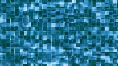 Blue drifting squares Stock Footage