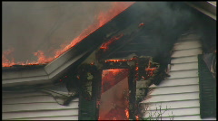 Housefire (2 of 16) Stock Footage