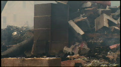 Housefire Aftermath (1 of 5) Stock Footage
