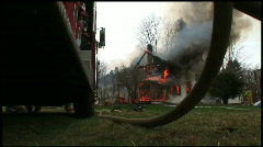 Housefire (16 of 16) Stock Footage