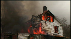 Housefire (8 of 16) Stock Footage