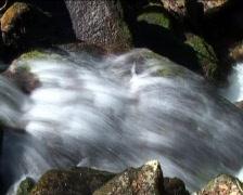 Gertelsbach-falls, trick shot detail Stock Footage