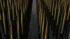 Bullets2 (tilt down) Stock Footage