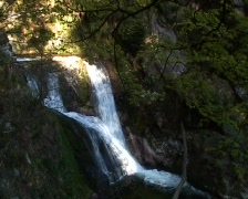All-Saints-Falls (Allerheiligen-Wasserfälle) Stock Footage