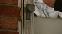 Knocking on a Door Stock Footage