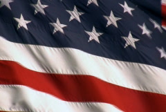 American Flag Background Stock Footage