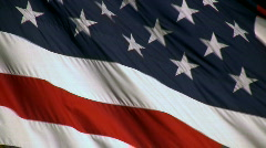 American Flag Background - stock footage