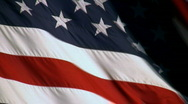 Stock Video Footage of American Flag Background