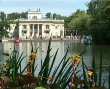 Water  palace  Stock Footage