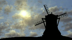 Windmill - stock footage