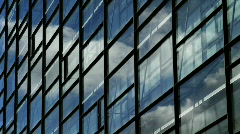 Clouds on Glass Stock Footage