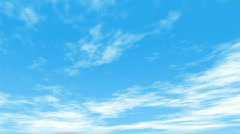 db clouds 02 sunny hd720 - stock footage
