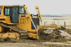 Bulldozer 1a - stock footage