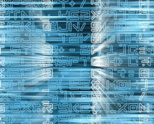 Text and Grids 12 - PAL Stock Footage